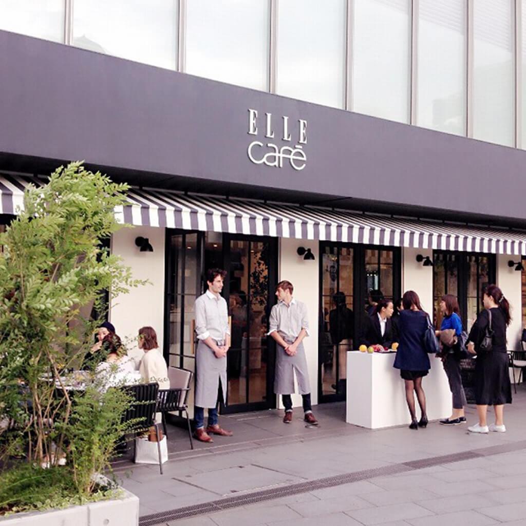 ELLE cafe aoyama外観