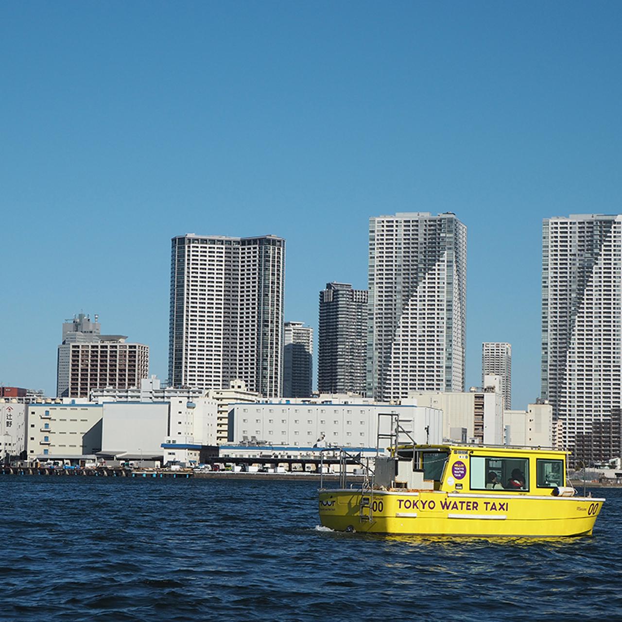 「ウォータータクシー」で水上でしか見ることができない東京の絶景に出会う