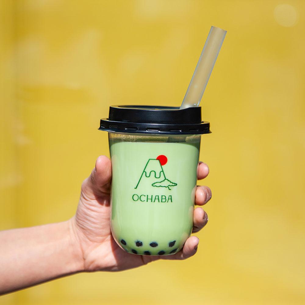 それはまるで「食べるお茶」。日本茶ミルクティー専門店「OCHABA(オチャバ)」新宿にオープン