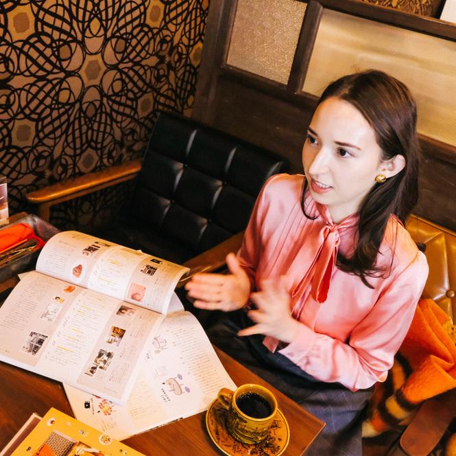 カフェはいつだって、新しいアイディアの発信基地。