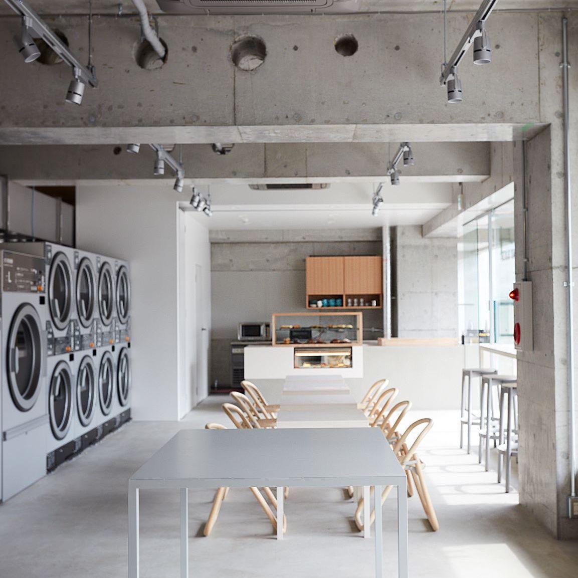 洗濯も憩いの時間に。コインランドリー'なのにカフェ'のお店が代々木上原にオープン