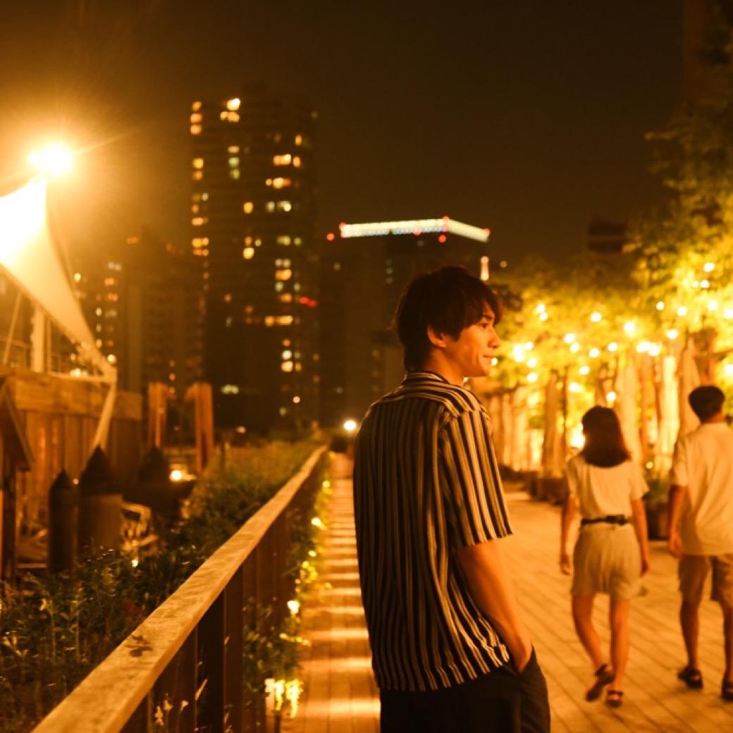 町田啓太(劇団EXILE)と歩く「天王洲リバーサイド」の夜景色