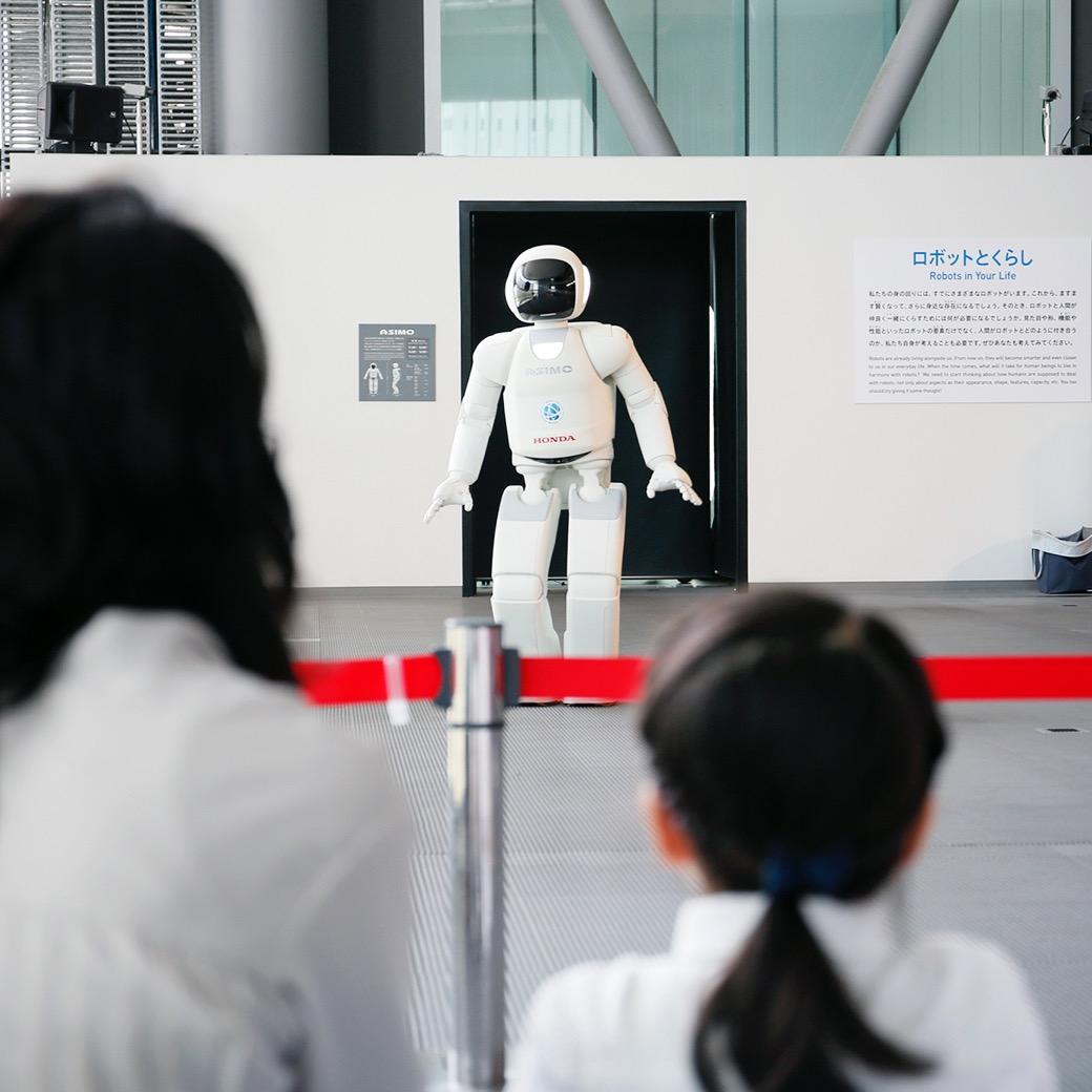 学ぶより感じる、幼児期から科学に親しめる日本科学未来館