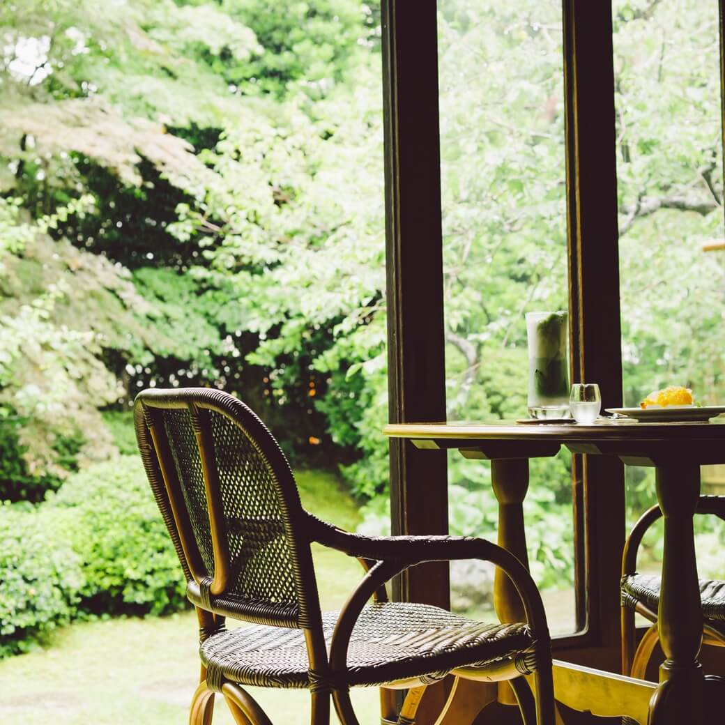 ここは本当に東京? 文化財建築のカフェで過ごす至福のひととき
