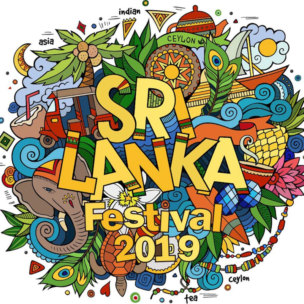 スリランカフェスティバルのロゴ