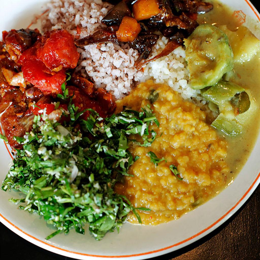 スリランカフェスティバルのメニュー