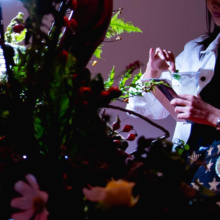 東京茶寮「飲む植物園」