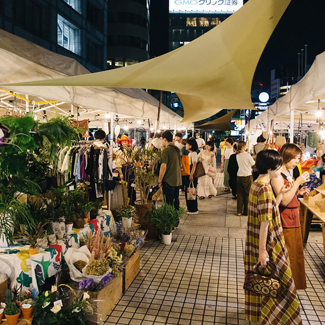 食を味わい、農を見つめる。表参道で、文化を創り出すナイトマーケットが開催