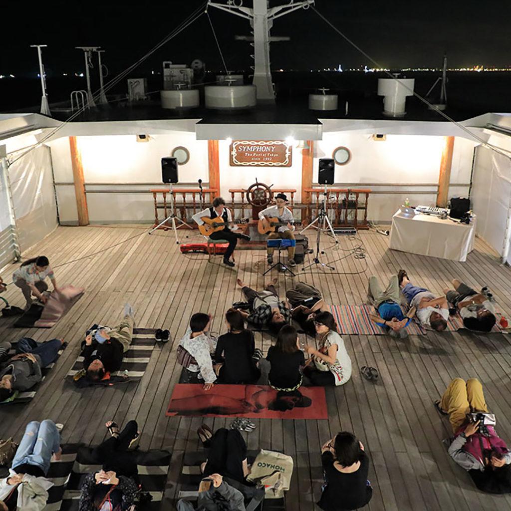 真夜中のピクニック船~東京湾オールナイトクルーズ~