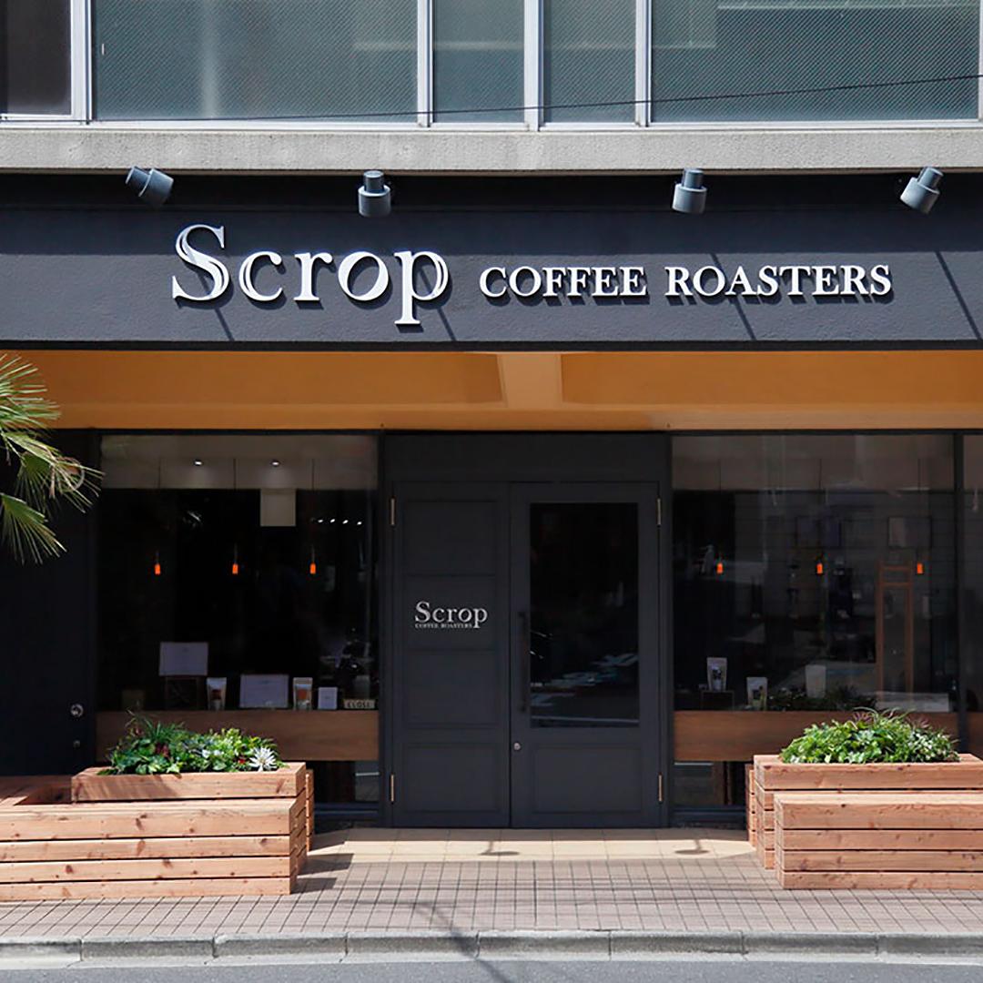 Scrop COFFEE ROASTERS 青山店(スクロップコーヒーロースターズ)の外観