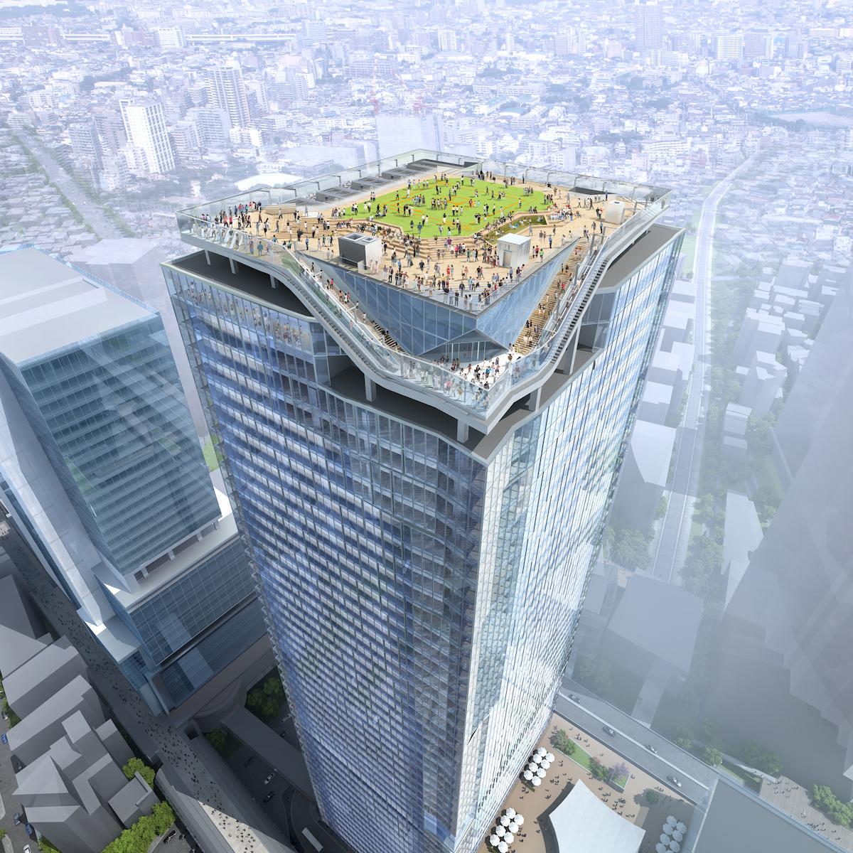 360度パノラマビュー。地上約230mの「渋谷スカイ」から大都会を一望
