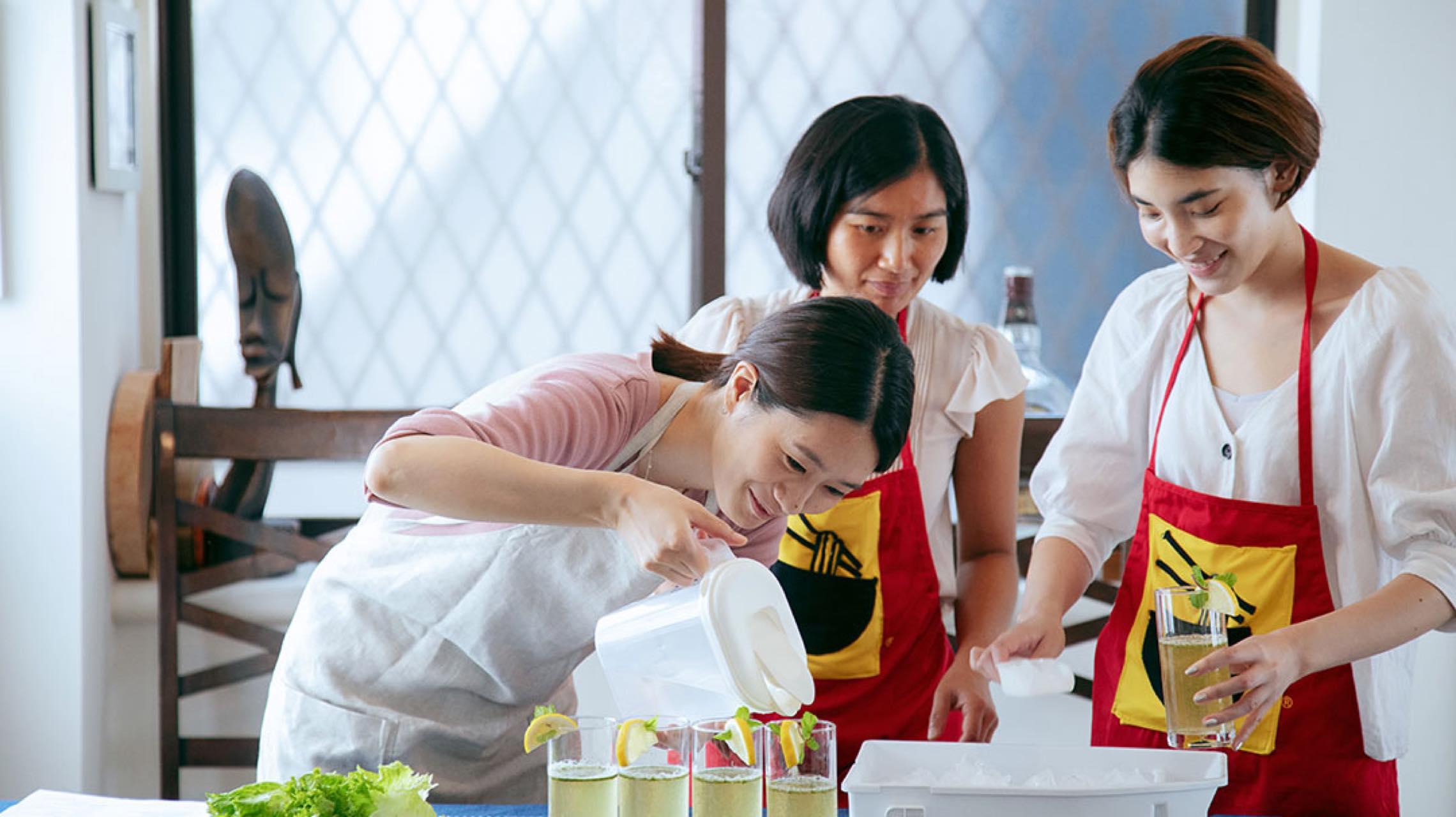 外国語&世界の家庭料理。同時に学べる「Tadaku」が人気