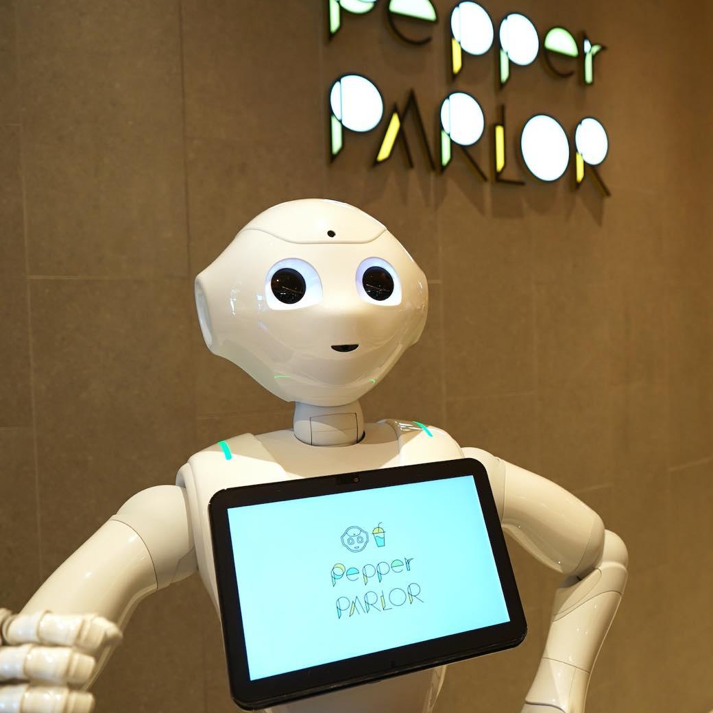 ロボットが店に溶け込む、ちょっとだけ未来のカフェ。渋谷「Pepper PARLOR」
