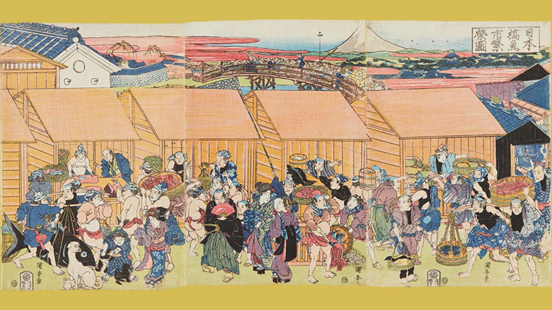 """この春、江戸の食文化が""""味わえる""""かも!? 「おいしい浮世絵展」開催"""