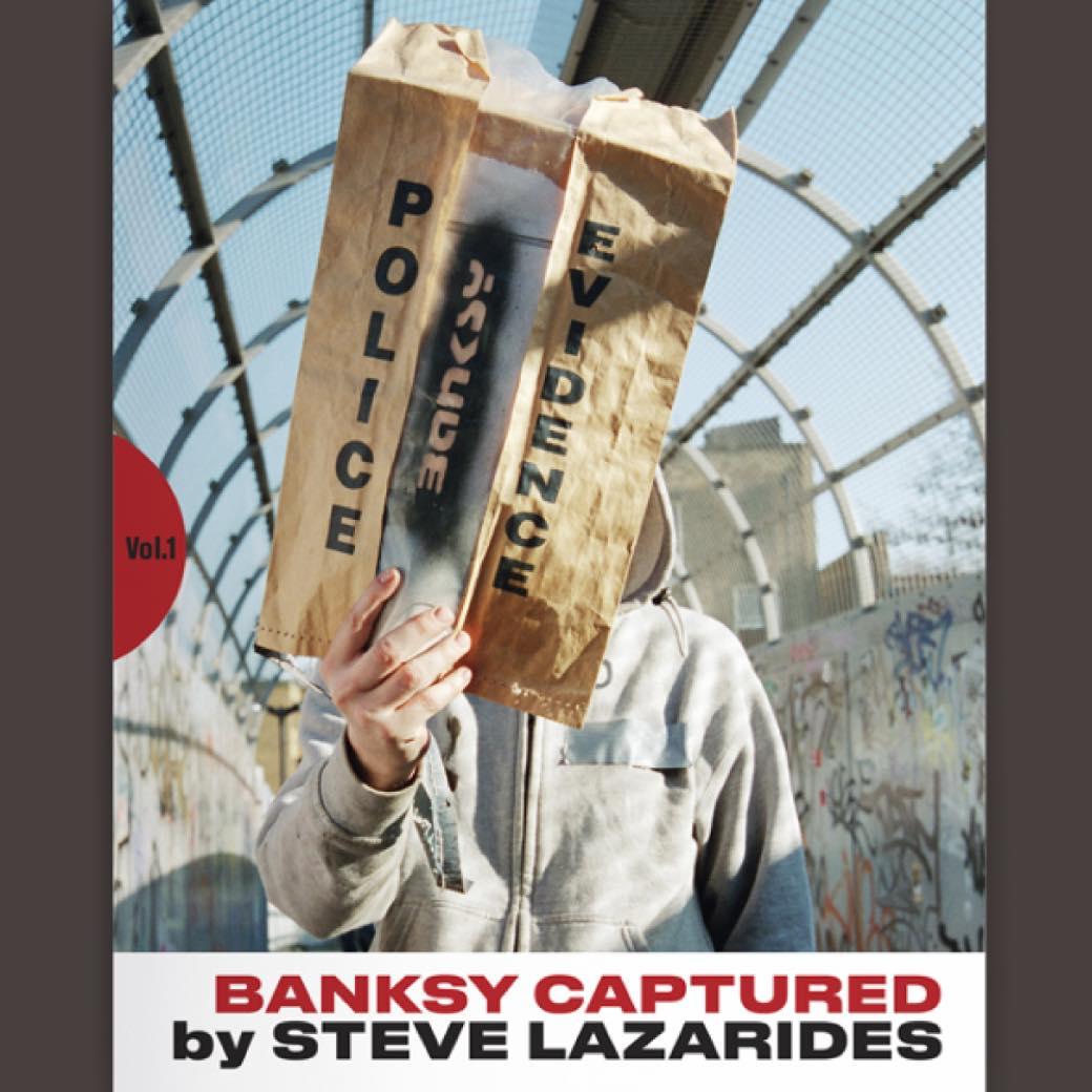 バンクシー本人の姿や未発表作品も。元マネージャーがまとめた貴重な作品集が発売