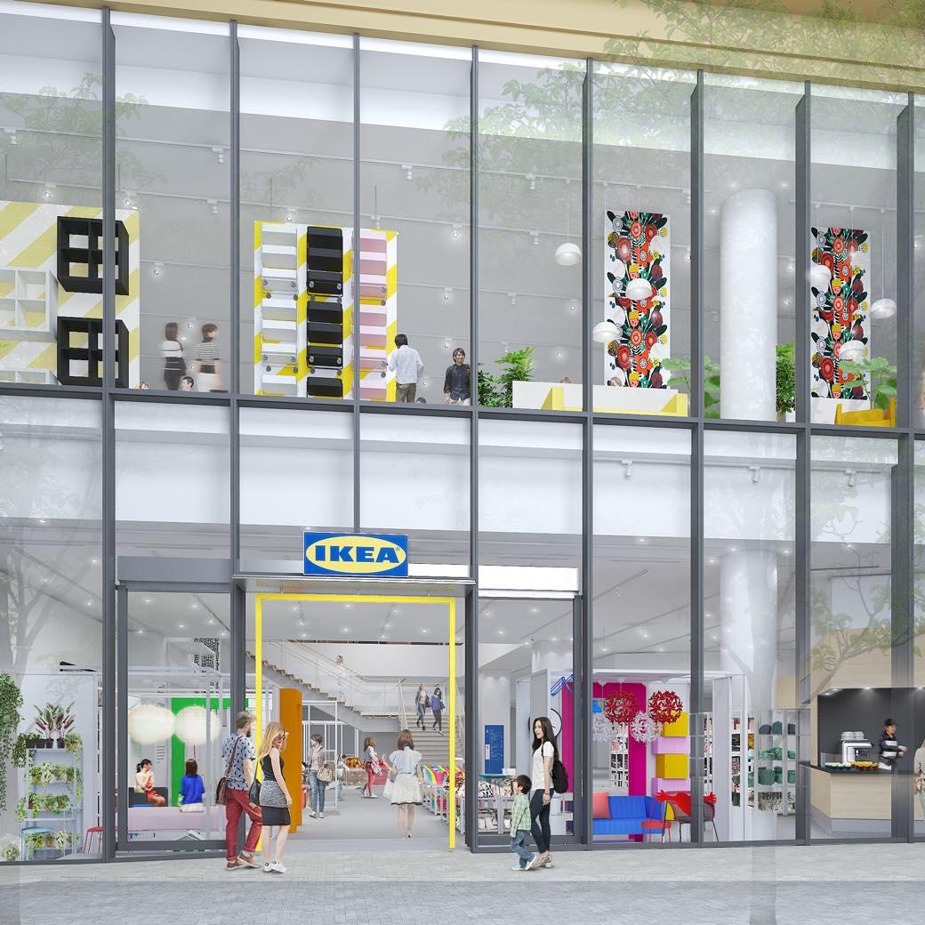 休日にも仕事帰りにも。ライフスタイルにあわせて使える、IKEA原宿