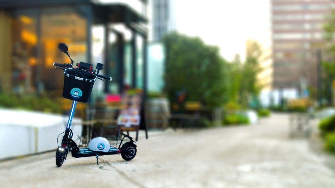 港区芝浦エリアに待望の電動キックボードシェアサービスが登場