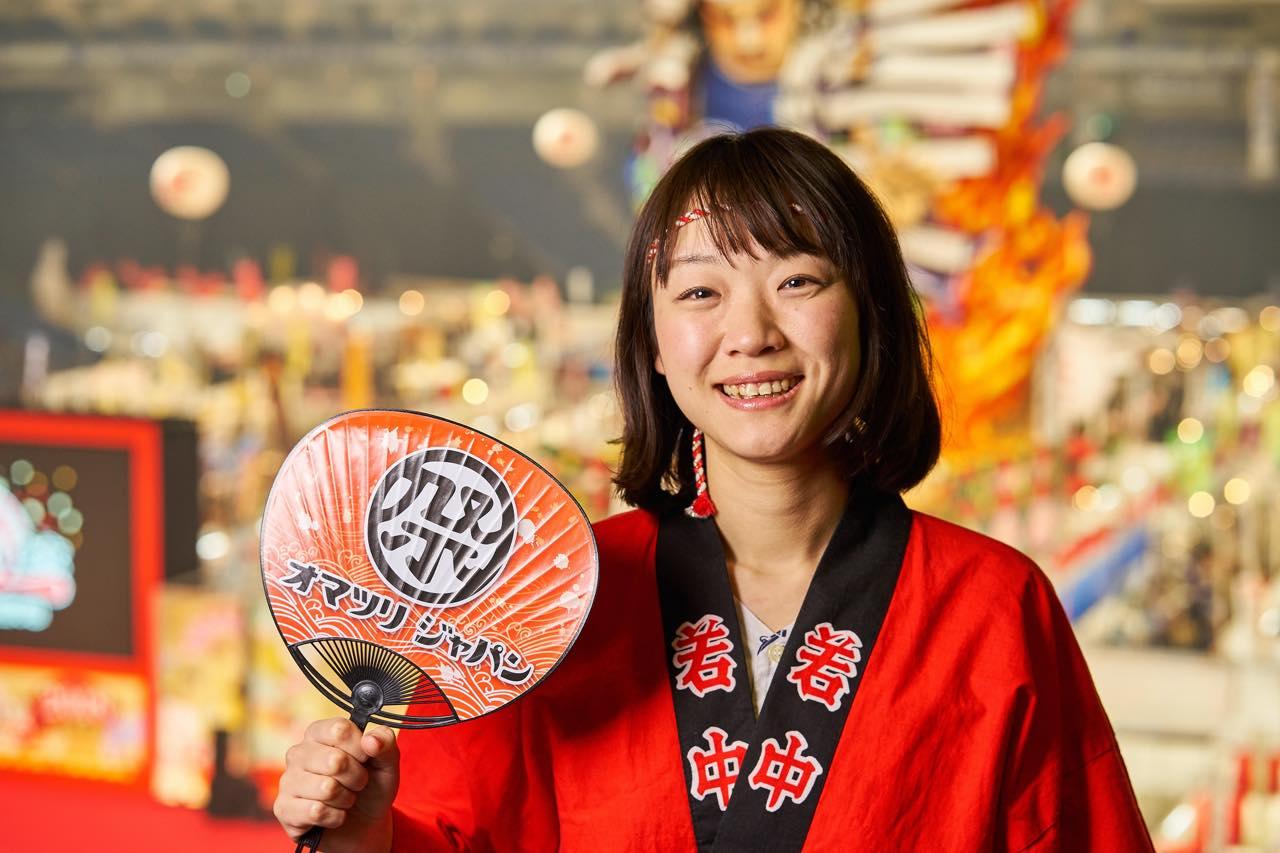 エア祭りで、お祭りの未来を作る。オマツリジャパン代表・加藤優子