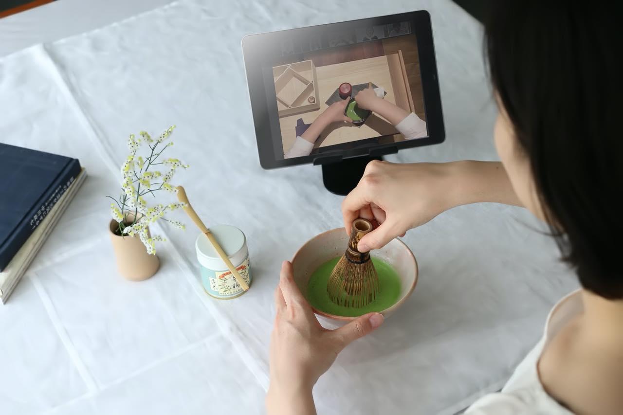 カジュアルに日常をリフレッシュ。「茶論」のオンライン茶道稽古がスタート