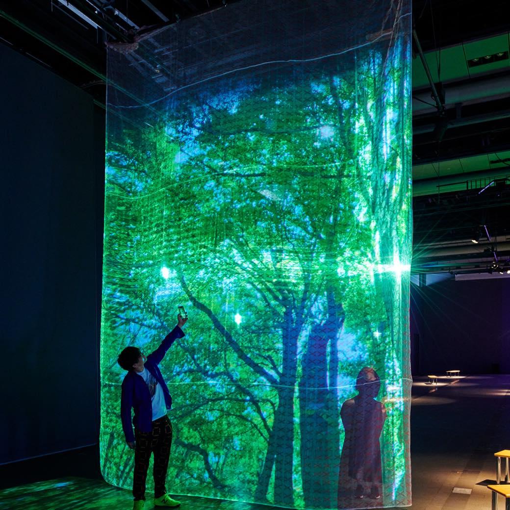 今週末はインスピレーションの散歩。日本科学未来館「ひらめきの庭」へ