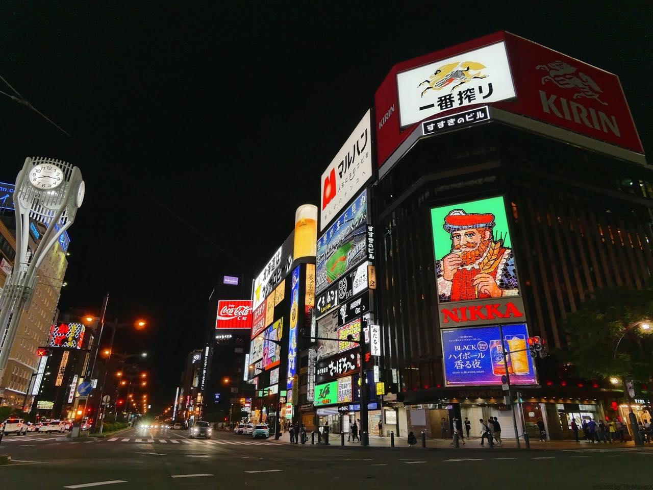 観光地リアルレポート。7月の札幌市街の様子を動画で取材