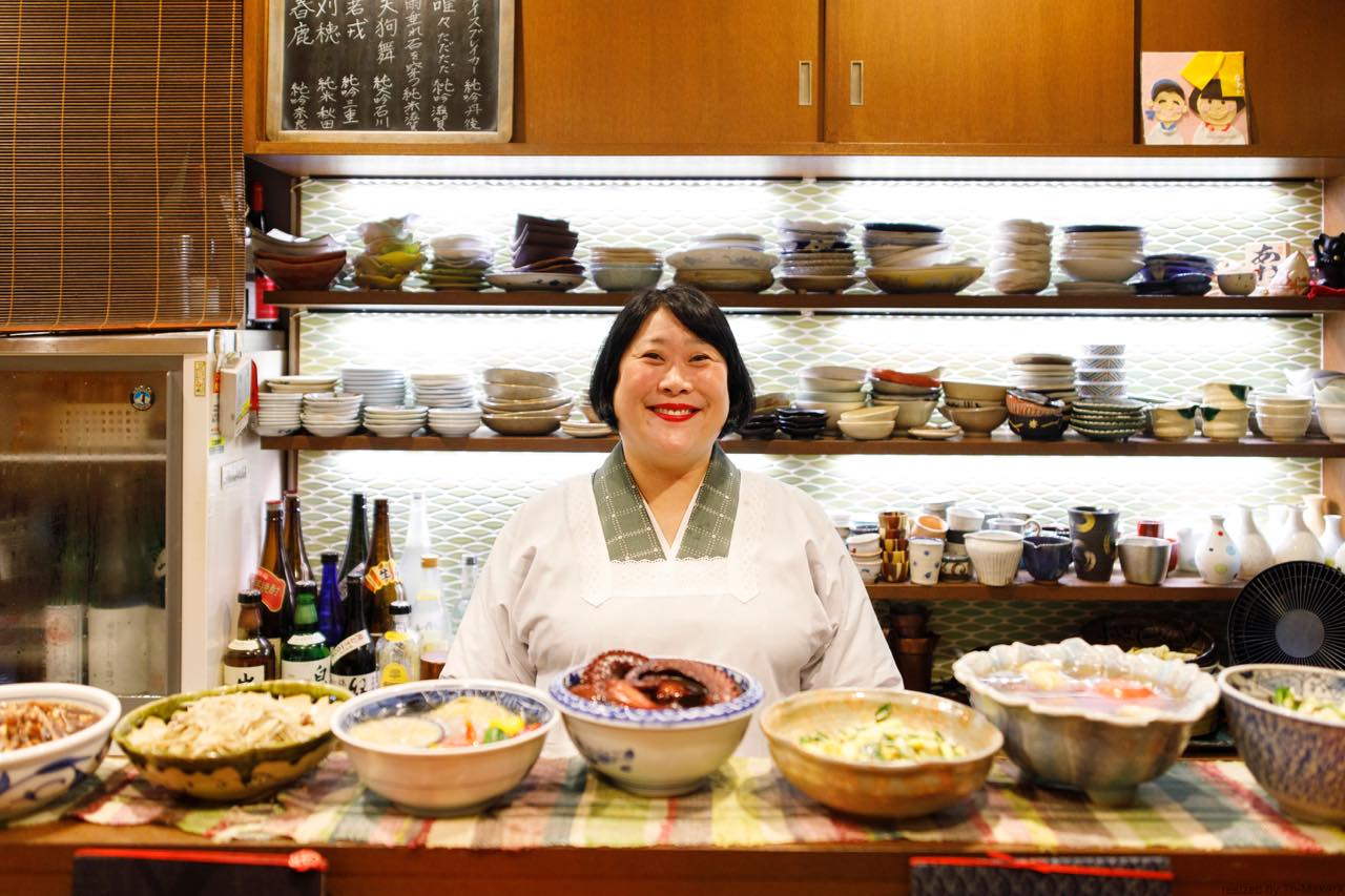 京都のおばんざいで、全国に笑顔を届ける。「あおい」女将・中村季以さん