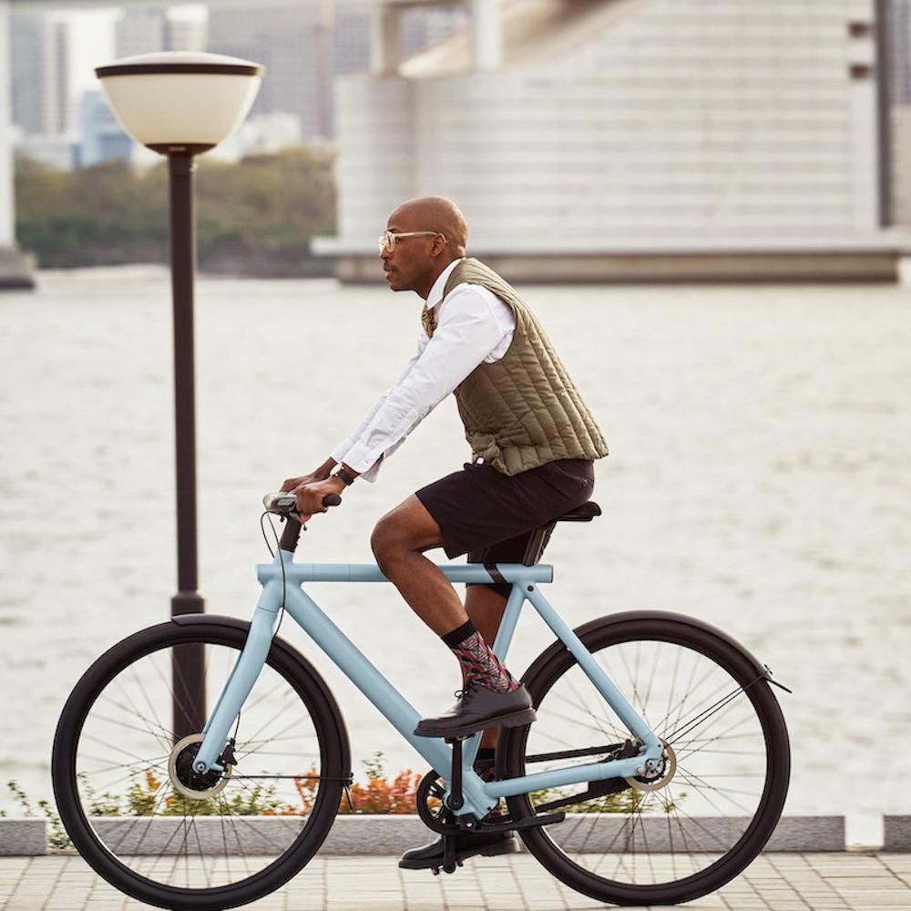 絶対に盗まれないeバイク。デザインとスペックを両立したVanMoofのオンリーワンな意欲作