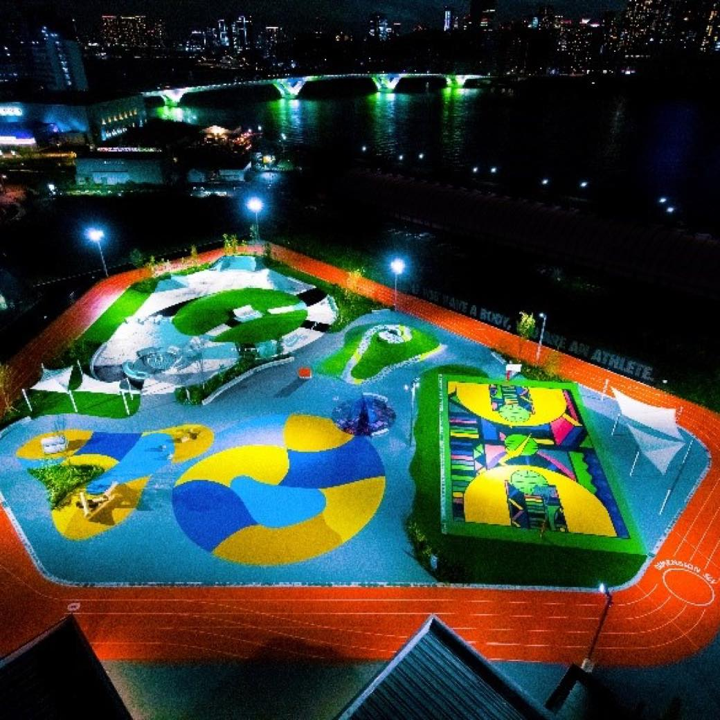 ナイキが目指す公園の未来とは? 豊洲に1年限定のスポーツパークがオープン