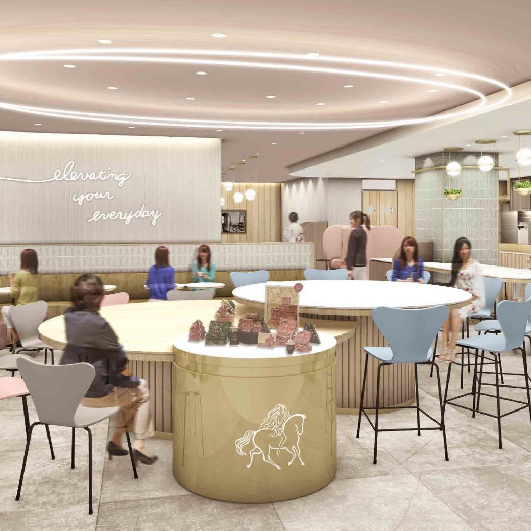 東京駅にGODIVAのカフェが初オープン。上質な空間で甘いチョコレートドリンクを堪能しよう