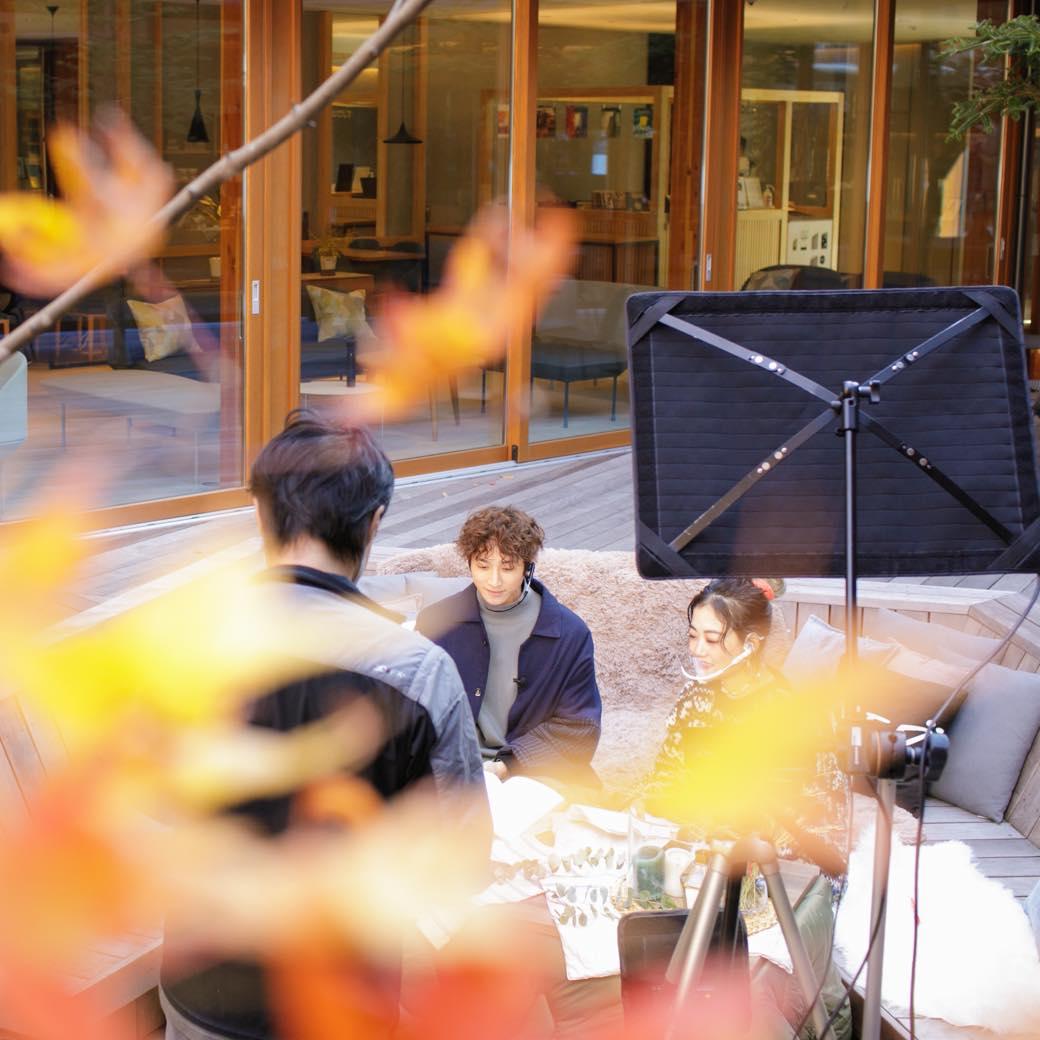 """俳優・小関裕太と""""ととのう""""秋の軽井沢 第2回トラベル・ライブビューイング実施レポート"""
