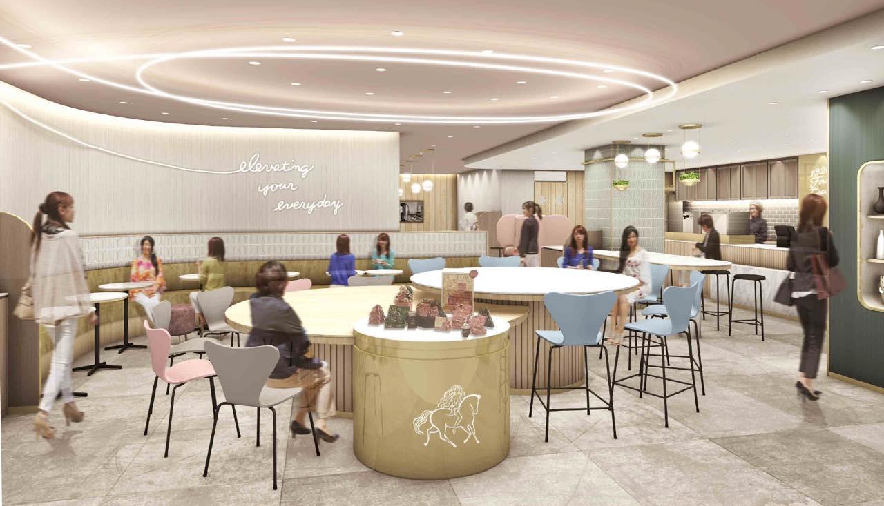 東京駅に初のGODIVAのカフェがオープン。上質な空間で甘いチョコレートドリンクを堪能しよう