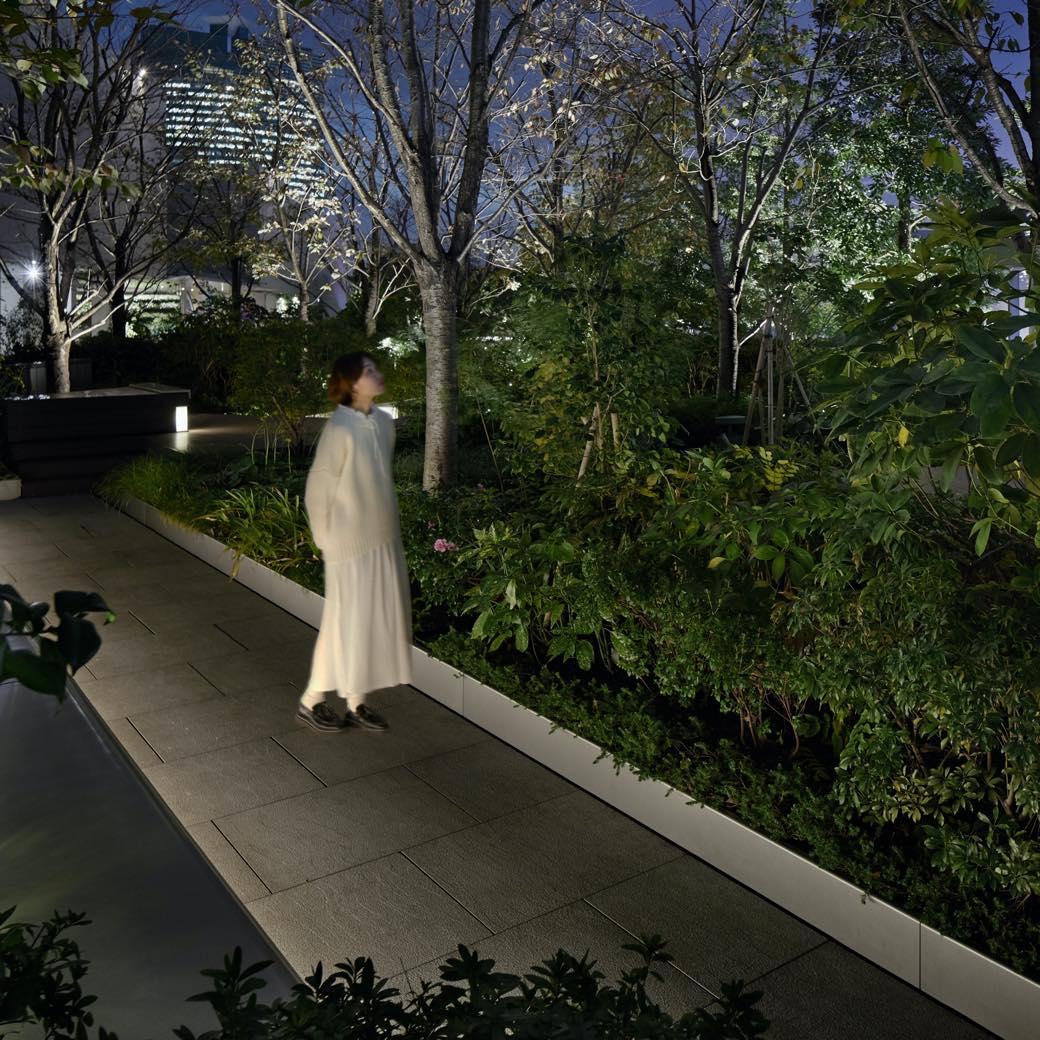 GINZA SIXの屋上庭園で「耳で視る」音のインスタレーションに癒される