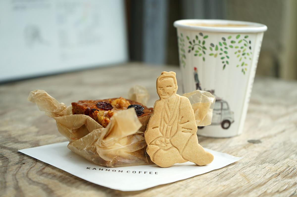 愛されローカルカフェ「KANNON COFFEE」。松陰神社前商店街で焼き菓子とコーヒーを