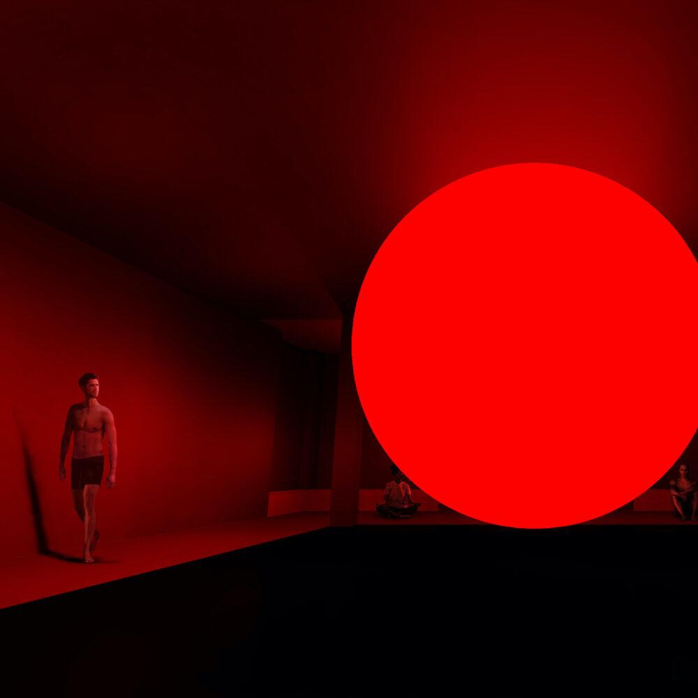より感覚をシャープにしてから観る展覧会。アートとサウナの新しい体験