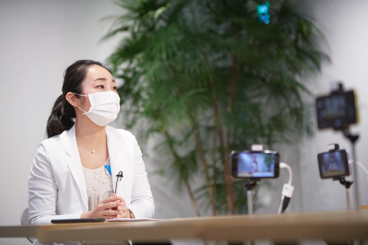産婦人科医・高橋怜奈先生にみんなの生理の悩みを相談!生配信ライブコマース実施レポート