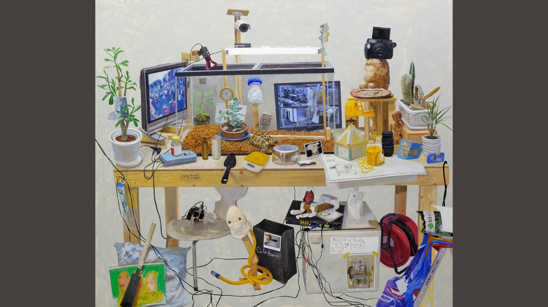 """""""境界""""をあいまいに。注目のアーティスト千葉正也の唯一無二ワールドへ迷い込む"""