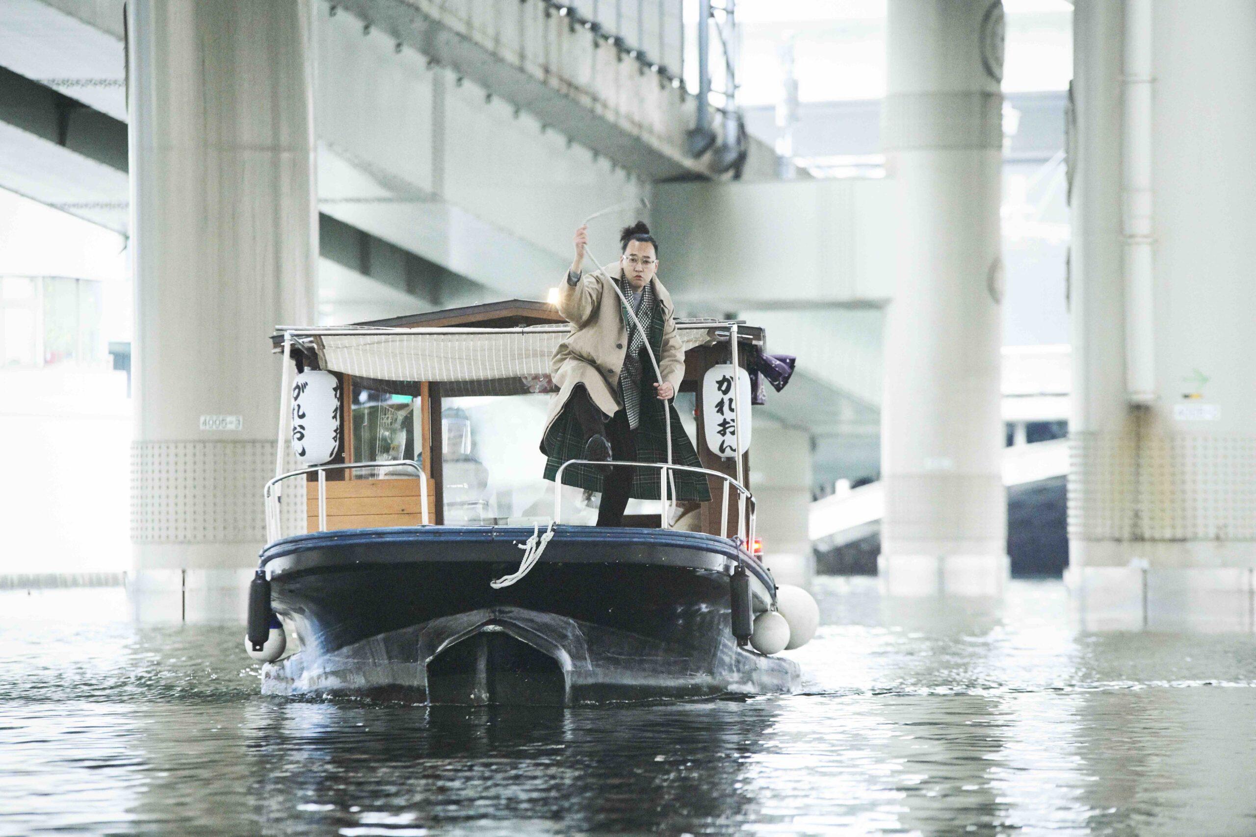 俳優・今井隆文が日本橋を再発見!お座敷舟に乗って水の都の歴史を辿る