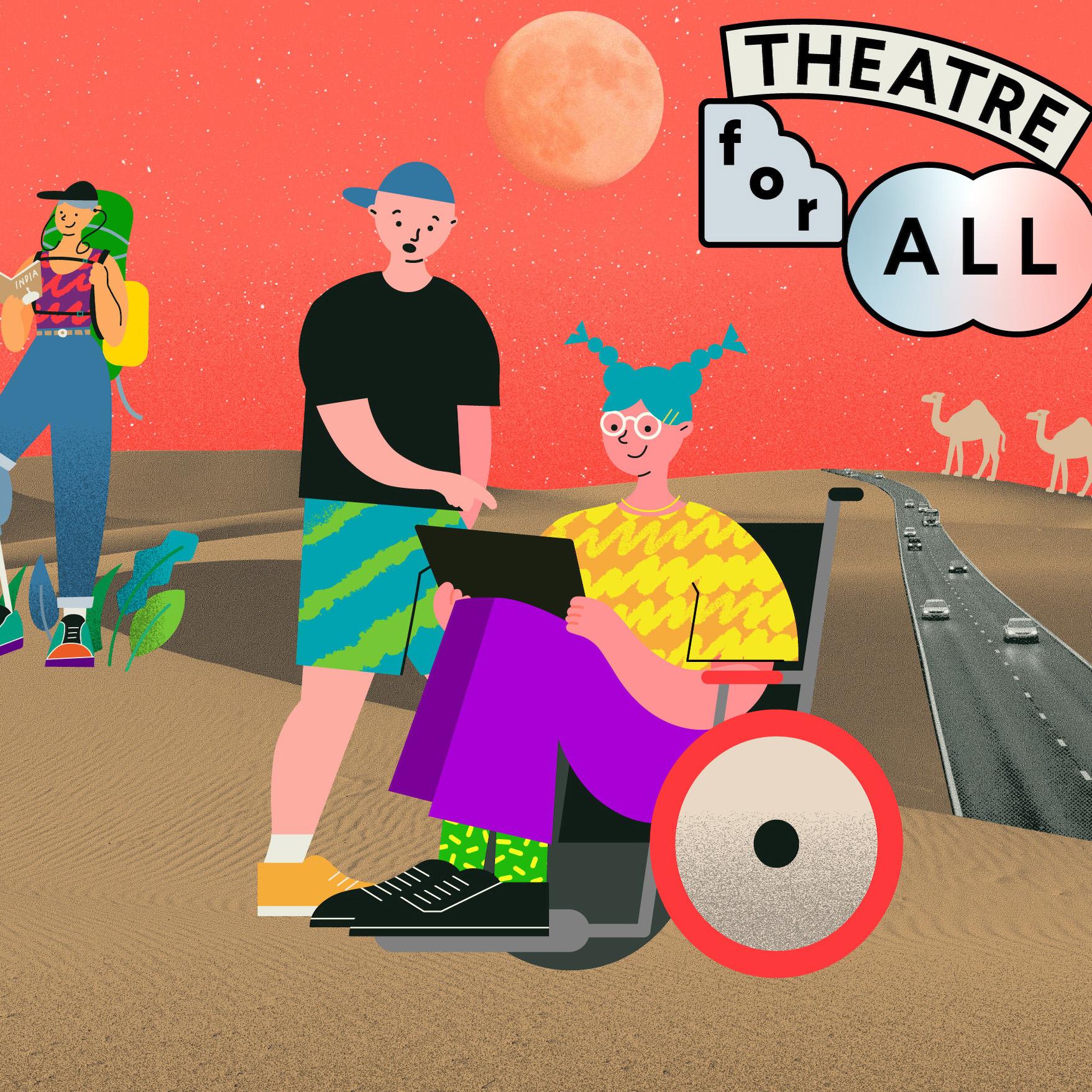 芸術はみんなのもの。日本初のバリアフリーのオンライン劇場「THEATRE for ALL」で広がる輪