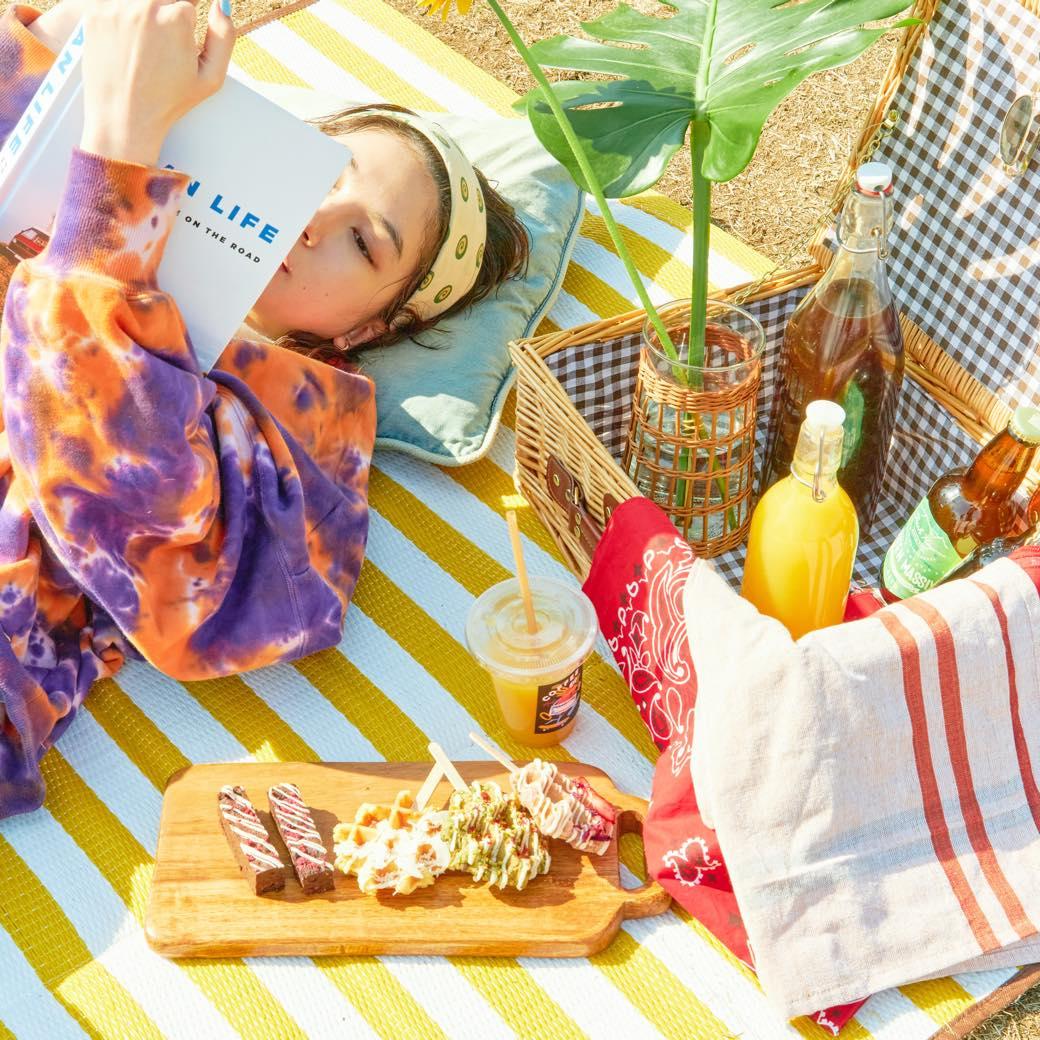 ピクニックや公園タイムに。春気分を高めるPELLSのメニューを原宿で調達