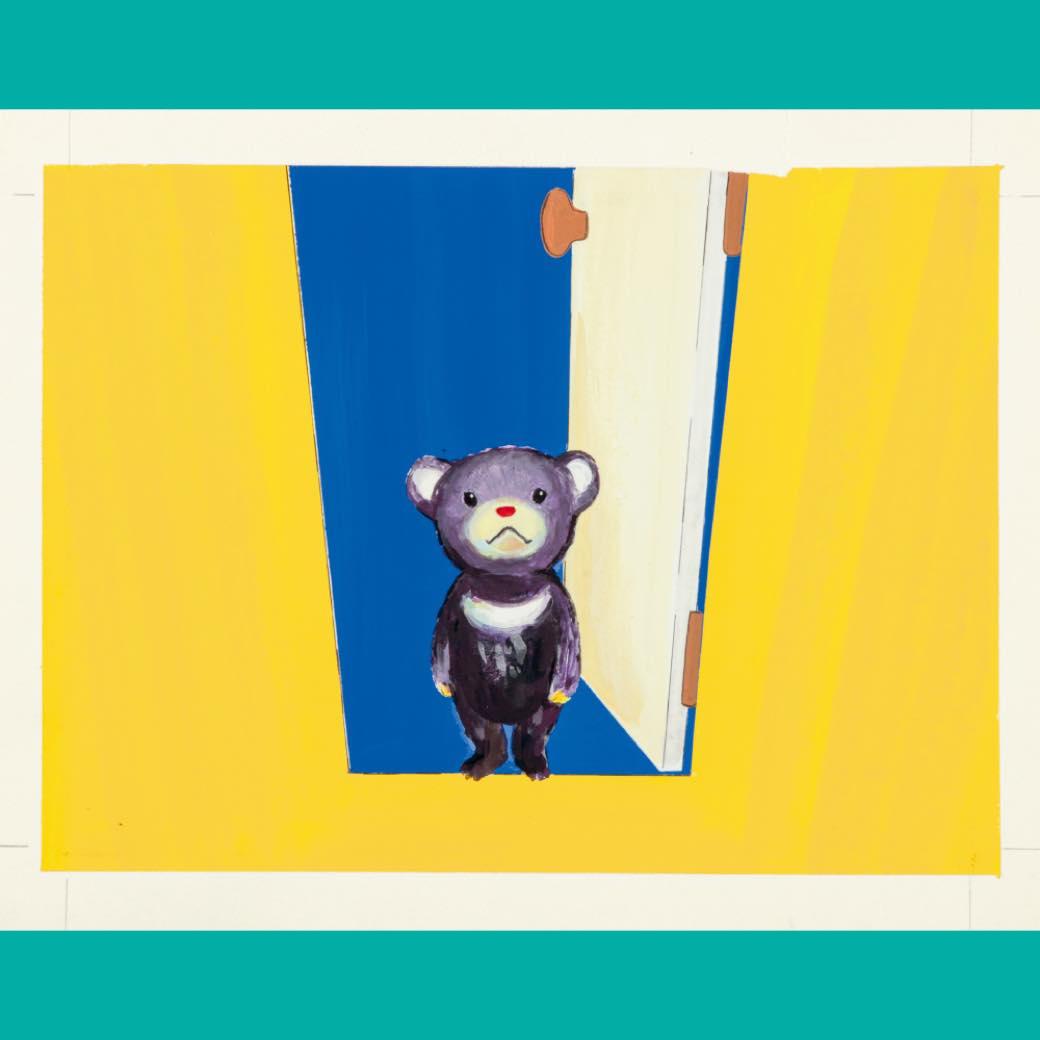 絵本作家・酒井駒子、初の個展。洗練された筆致が紡ぐやさしい物語に出会う
