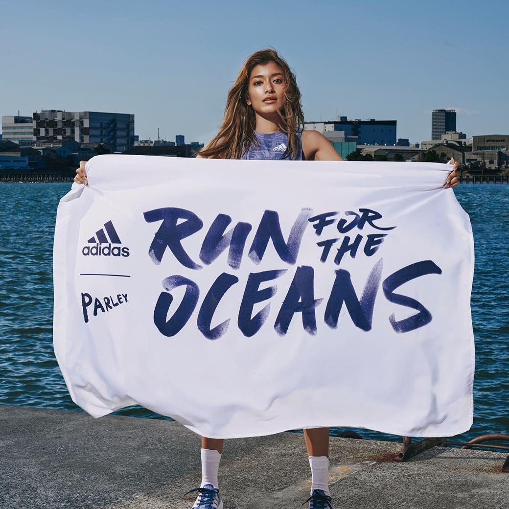 走ることがプラスチック回収になる。アディダスとともに、海洋汚染を考える