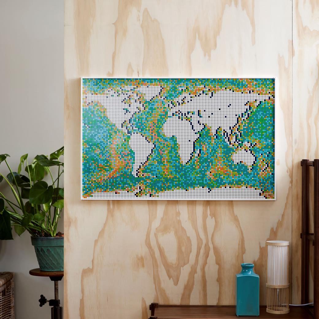 自宅で楽しむ新たな趣味に。「レゴ®ワールドマップ」で世界旅行へ旅立つ