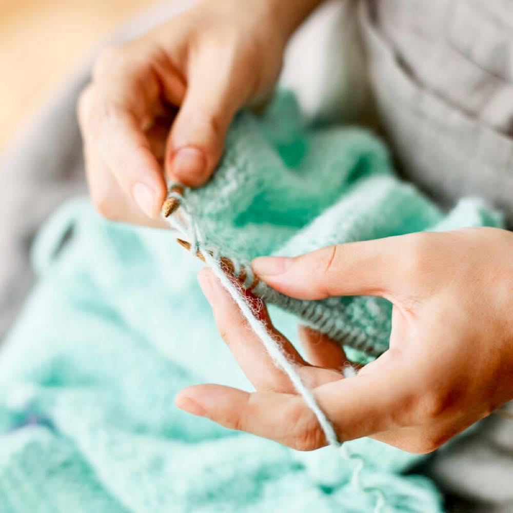 ひたすら没頭できる時間。初めてでものめり込める編み物の世界