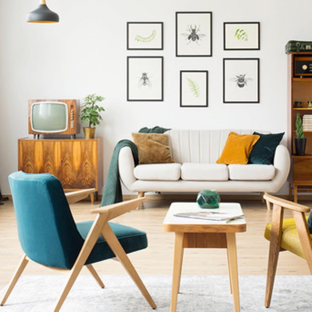 インテリアはプロに相談。ヴィンテージ家具に特化した空間コーディネートサービス